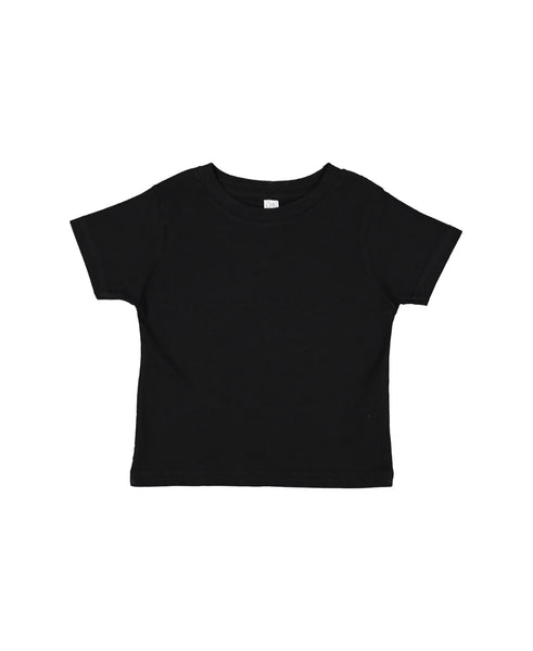 Rabbit Skins Toddler Tee - Black