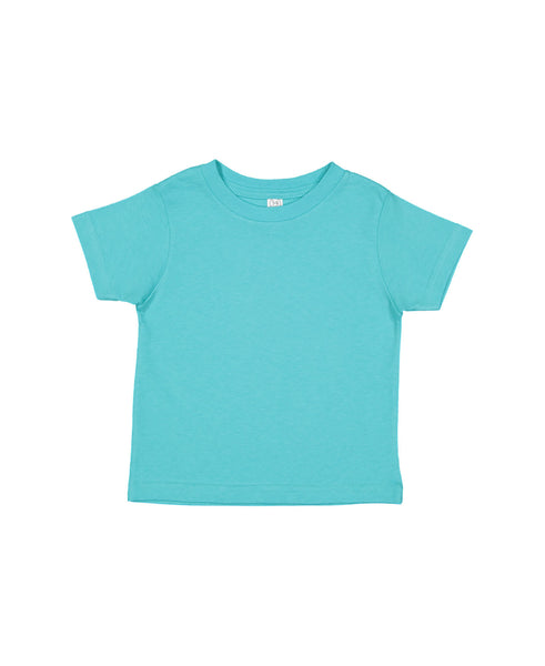 Rabbit Skins Toddler Tee - Caribbean