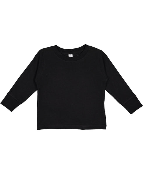 Rabbit Skins Toddler Long Sleeve - Black