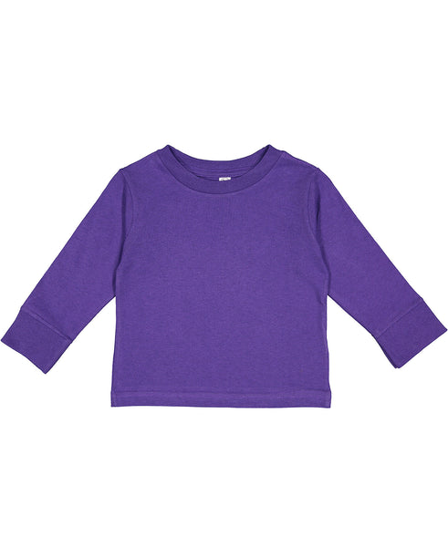 Rabbit Skins Toddler Long Sleeve - Purple