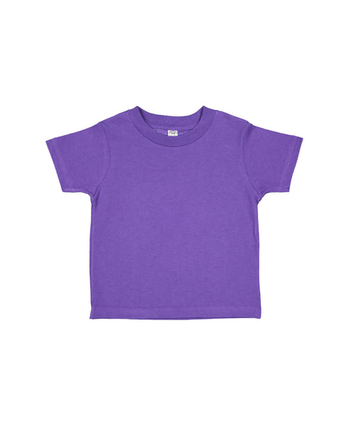 Rabbit Skins Infant Fine Jersey Tee - Purple