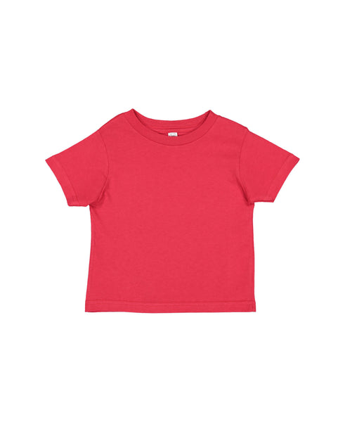 Rabbit Skins Infant Fine Jersey Tee - Red