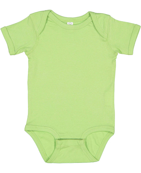 Short Sleeve Onesie - Key Lime