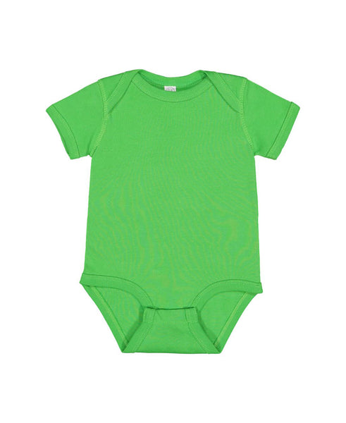 Short Sleeve Onesie - Apple