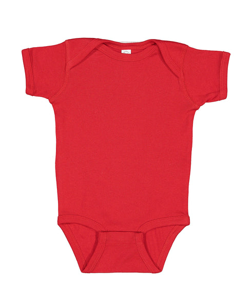 Short Sleeve Onesie - Red