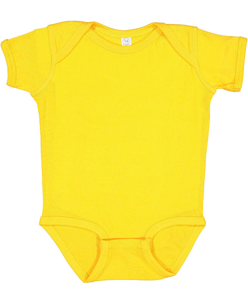 Short Sleeve Onesie - Gold