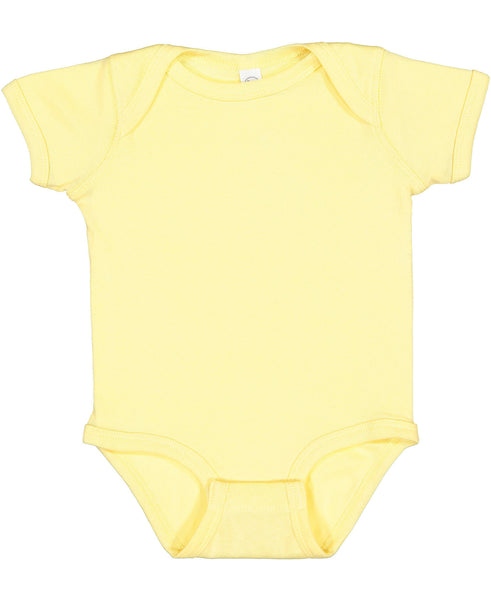 Short Sleeve Onesie - Banana