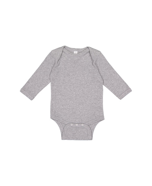 Long Sleeve Onesie - Heather