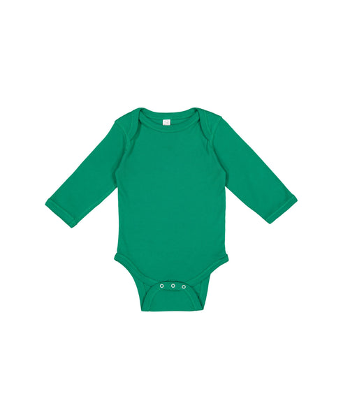 Long Sleeve Onesie - Kelly Green