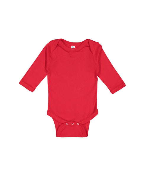 Long Sleeve Onesie - Red