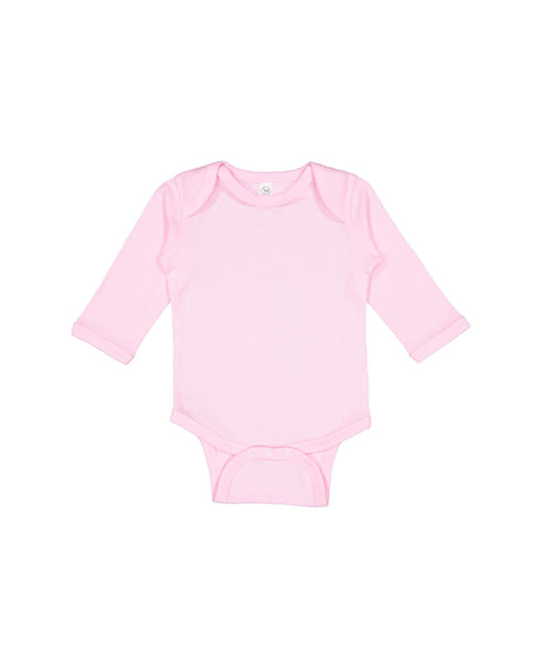 Long Sleeve Onesie - Pink
