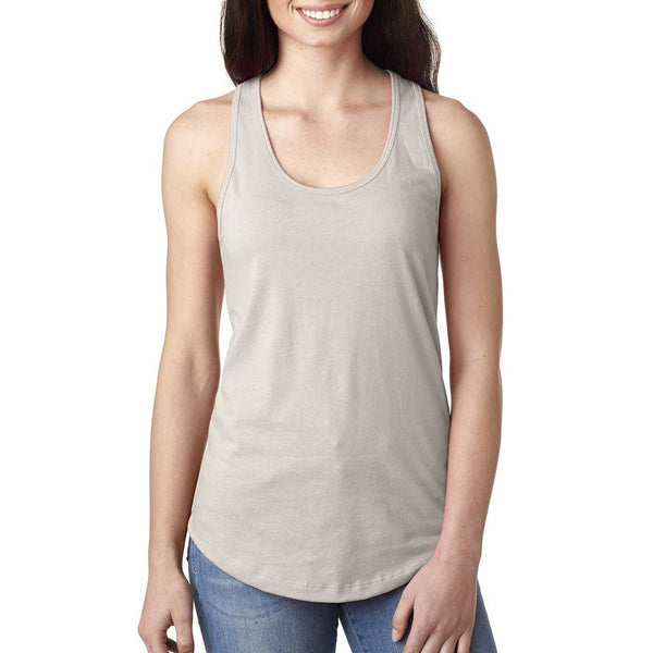 Next Level Women's Ideal Racerback Tank - Silver Grey