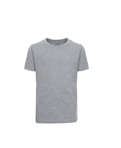 Next Level Youth Tee - Heather Grey