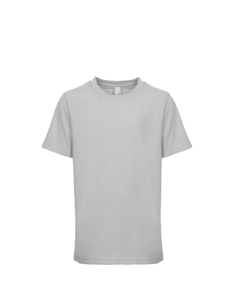 Next Level Youth Tee - Light Gray
