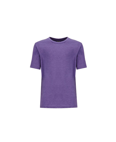 Next Level Youth Tee - Heather Purple Rush CVC