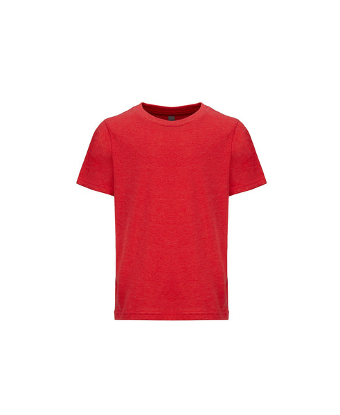 Next Level Youth Tee - Heather Red