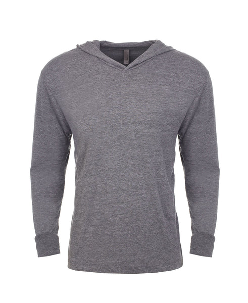 Next Level Unisex TriBlend Hooded Tee - Premium Heather