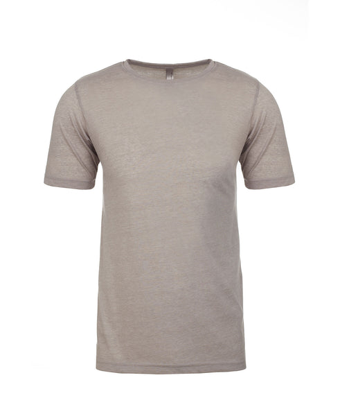 Next Level Poly/Cotton Tee - Silver