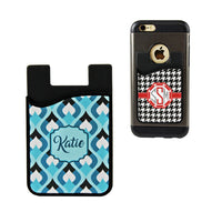 Sublimation Blank Silicone Card Caddy Phone Wallet