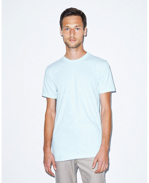 American Apparel Unisex Crew Tee - Light Blue