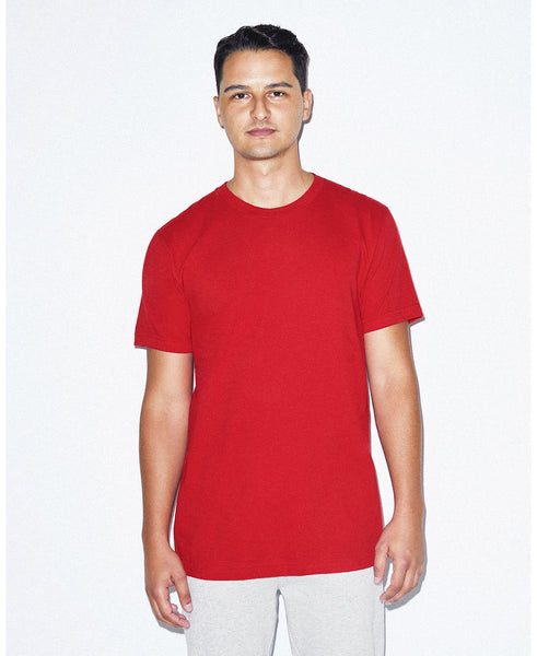 American Apparel Unisex Crew Tee - Red