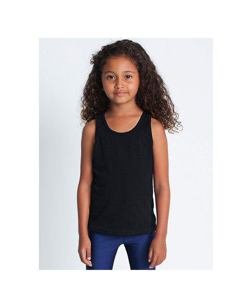 American Apparel Kid's Poly-Cotton Tank - Black