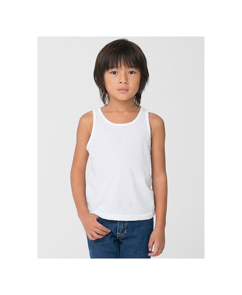 American Apparel Kid's Poly-Cotton Tank - Heather Imperial Purple