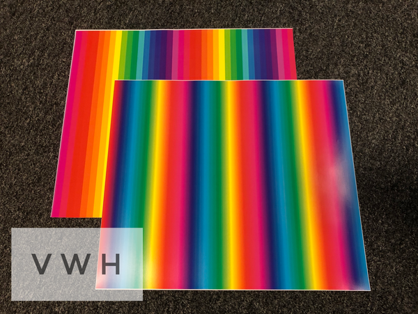 Rainbow Stripes HTV