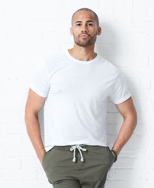LAT Sublivie Men's Sublimation Polyester Crew Tee
