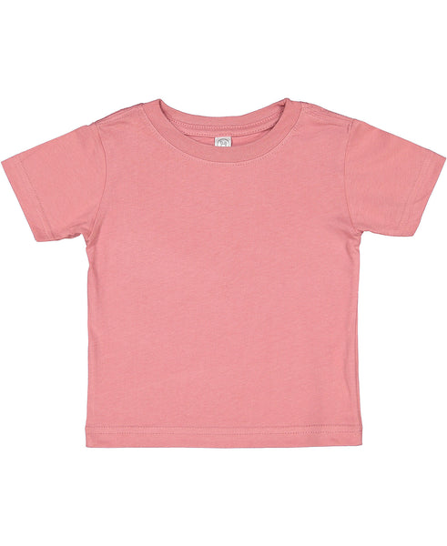 Rabbit Skins Infant Fine Jersey Tee - Mauvelous