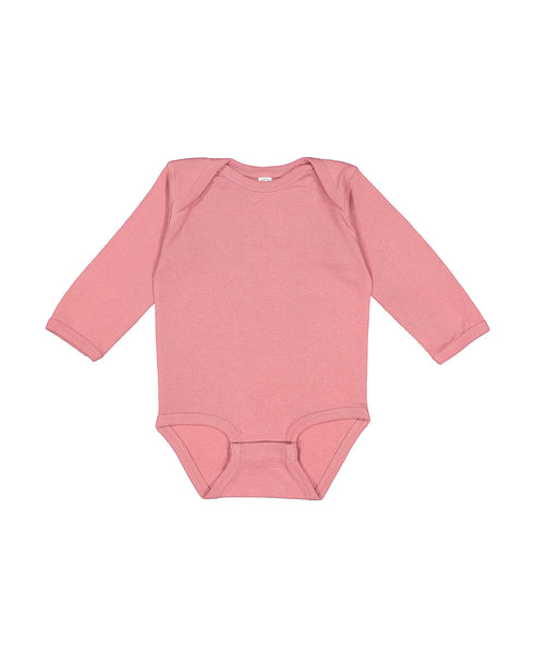 Long Sleeve Onesie - Mauve