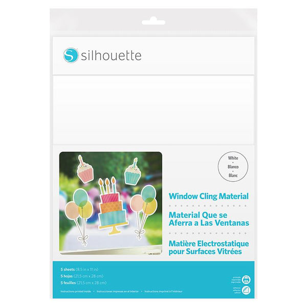 Silhouette Sticker Sheets - Window Cling