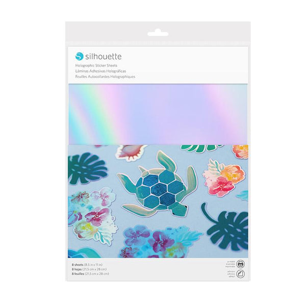 Silhouette Sticker Sheets - Holographic