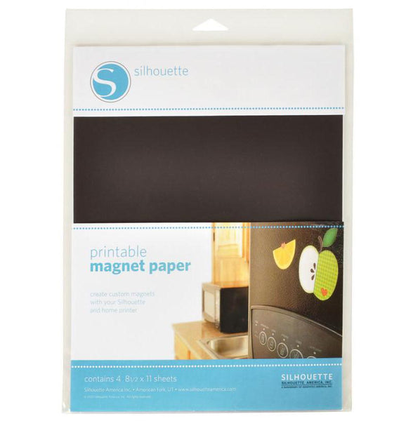 Silhouette Sticker Sheets - Magnet