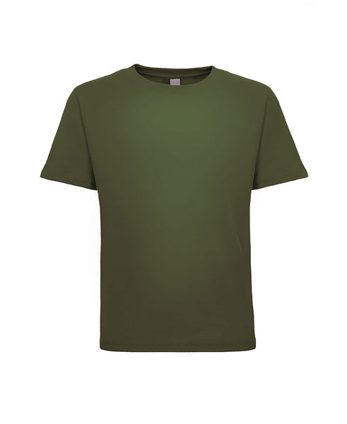 Next Level Toddler Cotton Tee - Military Green/Army