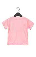 Bella + Canvas Toddler Jersey Short Sleeve Tee - Pink