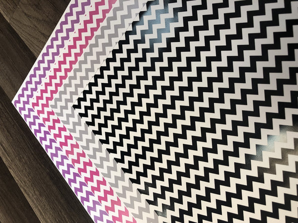 Chevron - Printed HTV