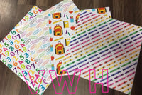 Back To School - Adhesive 651 Prints