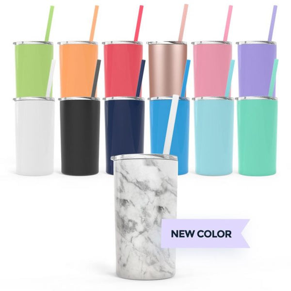 Steel Skinny Mini Tumbler