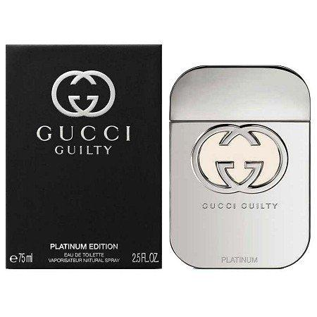 Guilty Platinum Edition Eau de Toilette 75ml - D'Scentsation