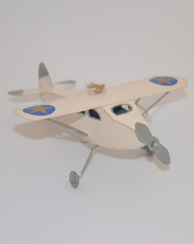 Clapsaddle Holiday Plane Ornament