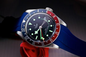 TUDOR GMT ON BLUE VANGUARD