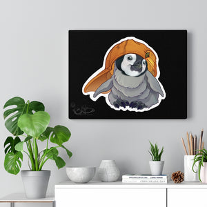 Penguin baby illustration, Canvas Gallery Wrap