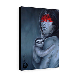 'Amazon hugs', Fine art canvas print