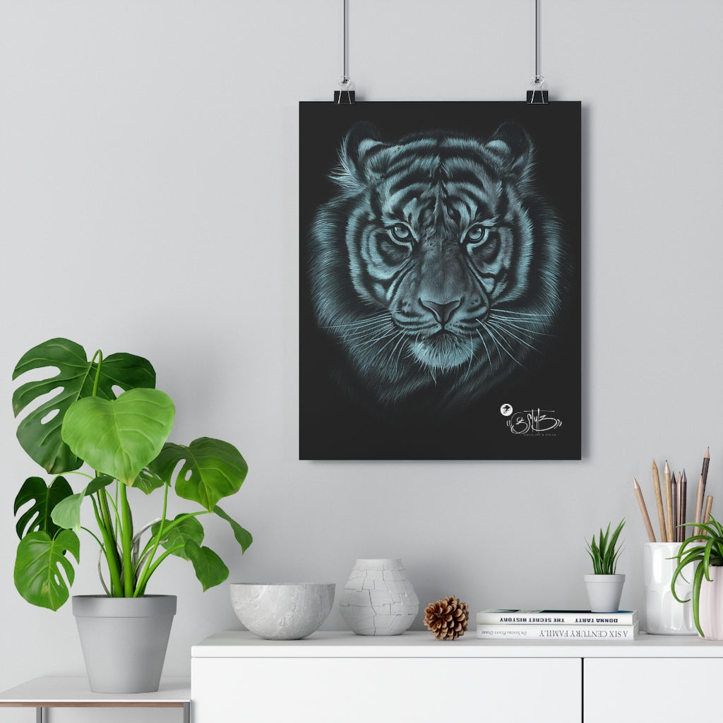 'Tiger drawing' Giclée Art Print