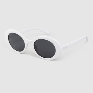 HEARTS ON FIRE SUNGLASSES - MATTE LILAC