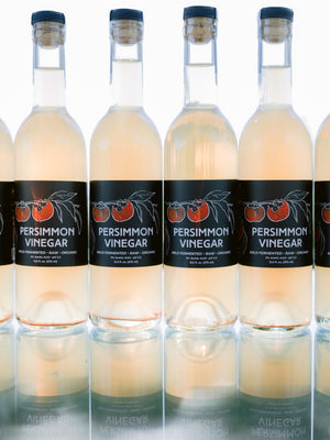 Six Bottles of Persimmon Vinegar