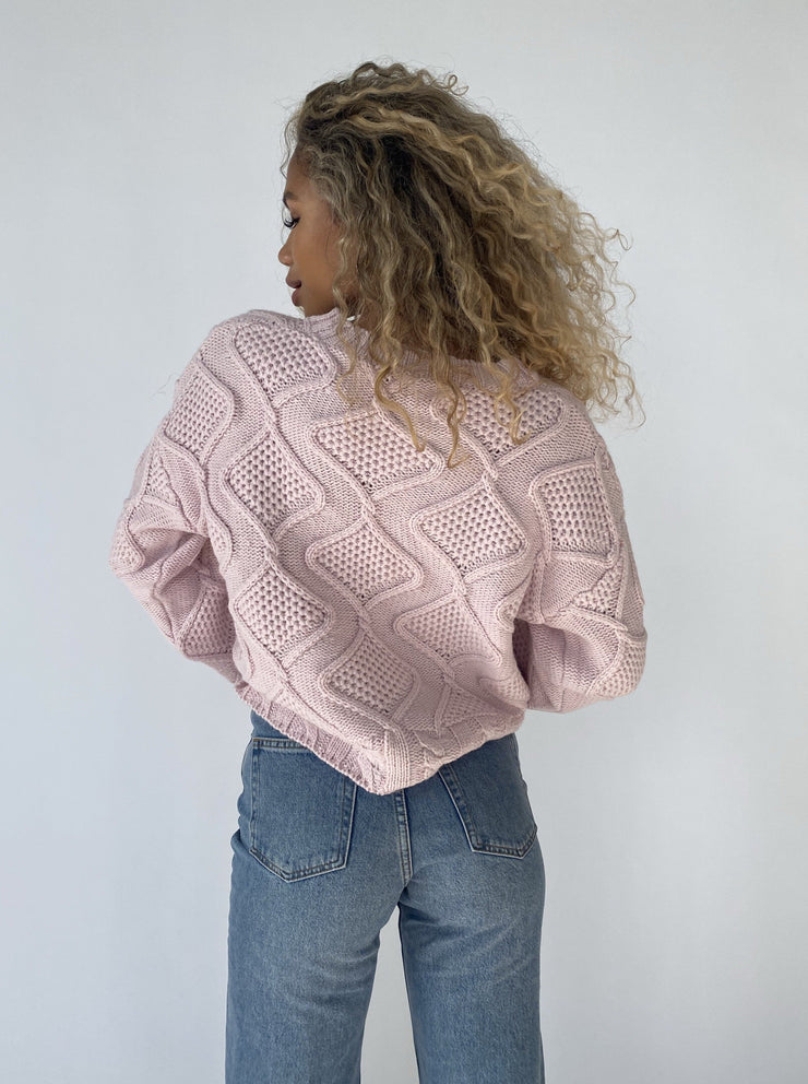 Baby knit sweater - pink top May
