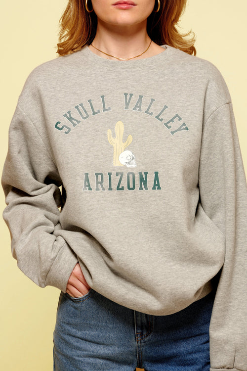 Skull Valley Arizona sweater top May