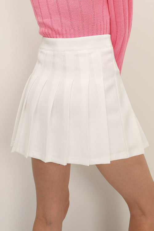 Sporta white skirt underdele May